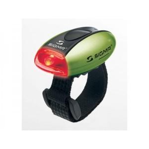 Zadní blikačka SIGMA Micro - zelená