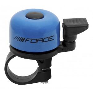 Zvonek FORCE Mini paličkový - modrý