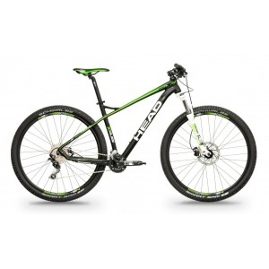 HEAD X-Rubi II 29'' - black matt/green 2019