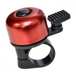 Zvonek MINI paličkový - červený lesk