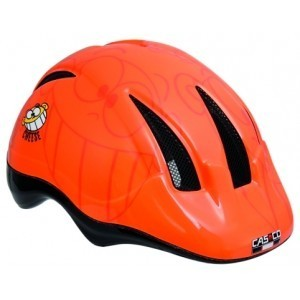 Dětská přilba CASCO Follow Me I - Cheese orange