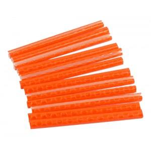 Reflexní trubičky PROFIL JY-1201 - oranžové 12 ks