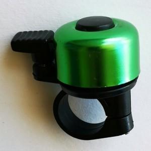 Zvonek MINI paličkový - zelená metalíza