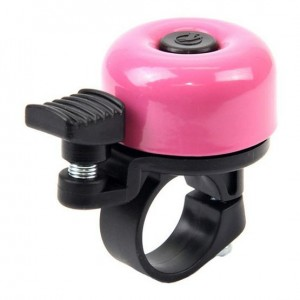 Zvonek MINI paličkový - růžový